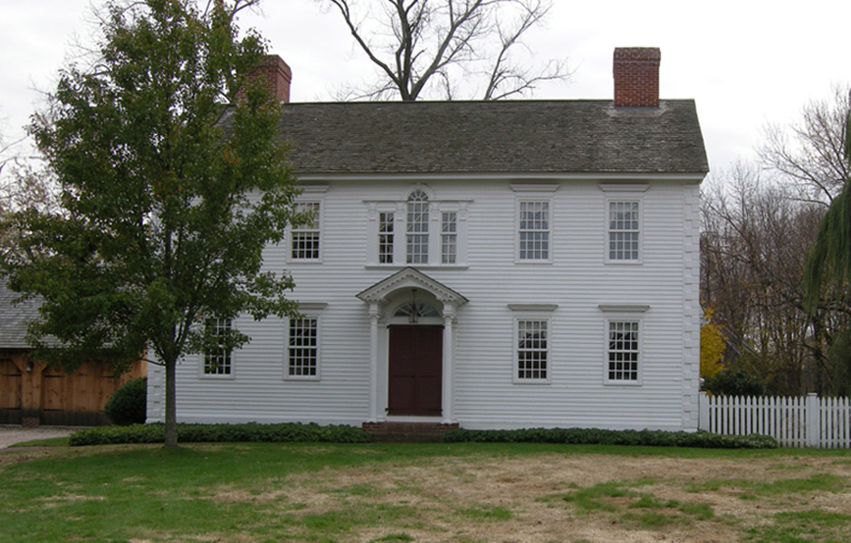 Reproduction Colonial Home Plans